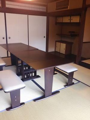 きっさこ和束レンタルスペース 和室八畳間の室内の写真