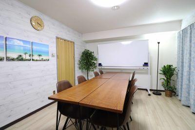 ラニカイスペース🌴都会オアシス 会議セミナー向けレンタルスペースの室内の写真