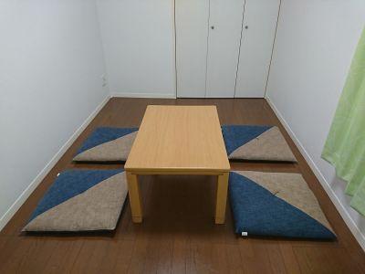 レンタルスペース「ミミさんち」 空き部屋(2F)【3~6名様】の室内の写真