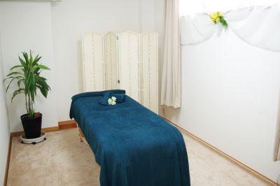 ベッドタオル、有料レンタル - レンタルサロン(エステルーム) エステルームの室内の写真