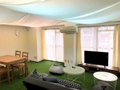 都会でグランピングスペース804 都会でグランピング風スペースの室内の写真