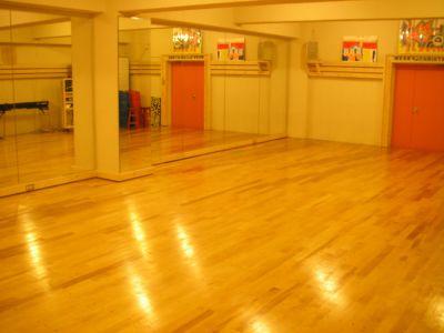 Studio Muku 地下スタジオの室内の写真