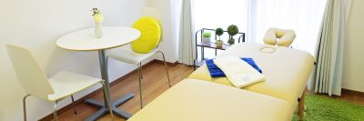 代官山の可愛いプライベートサロンの室内の写真