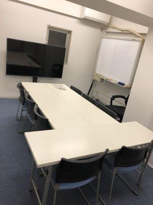 浜松町★徒歩4分、貸し会議室! 貸し会議室、レンタルスペースの室内の写真