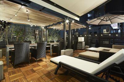 Lounge-R TERRACE 室内+屋上プランの室内の写真