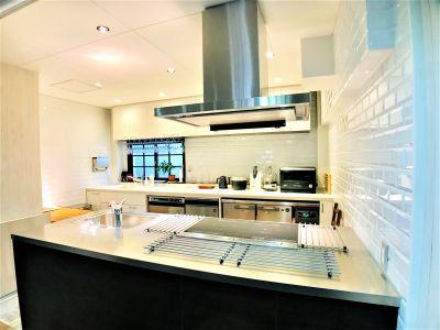 パナソニックキッチンLクラス - Talkレンタルキッチン恵比寿 Talk キッチンスタジオ恵比寿の室内の写真