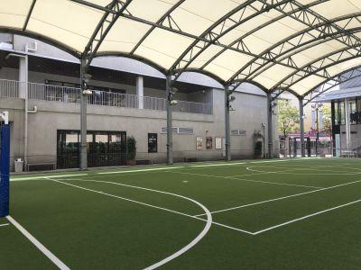 アディダスフットサルパーク川崎 【Aコート】多目的スペース の室内の写真
