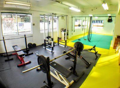 所沢道場レンタルスペース パーソナルトレーニングスペースの室内の写真