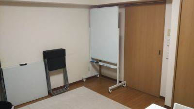 ホワイトボード - 西船橋レンタルスペース「カルレクラブ」 個室スペースの室内の写真
