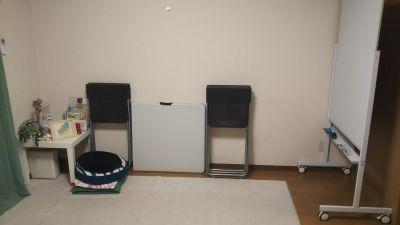 折り畳みテーブル - 西船橋レンタルスペース「カルレクラブ」 個室スペースの室内の写真