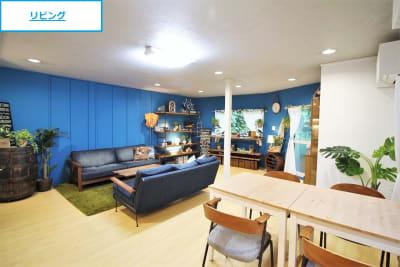 【ノーマル空間】キッチン側からみた室内 - 池尻セレクトハウス テレビ・CM・動画配信撮影などの室内の写真