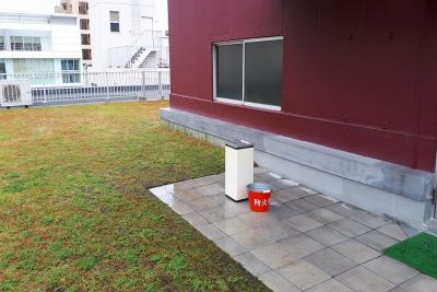 屋上喫煙場 - 大阪長堀 貸会議室 6階 D会議室の室内の写真