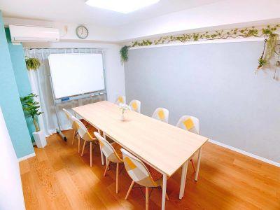 MUSUBI会議室の室内の写真