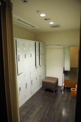 4階 鍵付きロッカールーム(男女) (6階併用使用のみ3300円) - VICEO(ビセオ) 多目的スペースVICEOの室内の写真