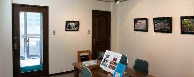 ギャラリー洛風庵しおみ 多目的スペースの室内の写真