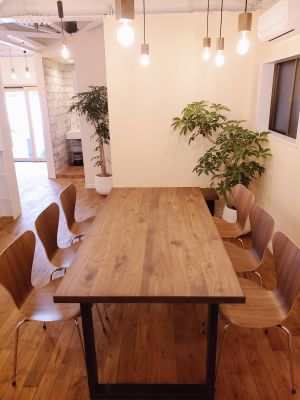 広尾レンタルスペース リラックスキッチンスタジオの室内の写真