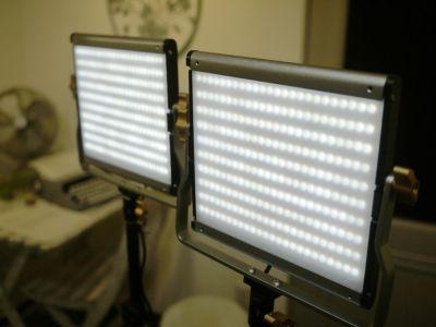 スタンド照明(撮影・収録用) - hair ROOK るうく 2F 貸スタジオの設備の写真