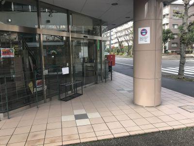 スペースサーティ レンタル ダンススタジオの入口の写真