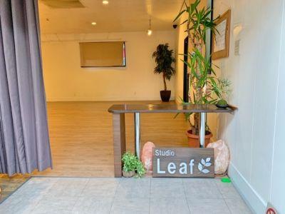 Studio Leaf レンタルスペースの入口の写真