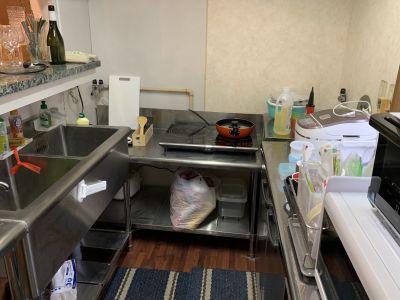 ASEAN HOUSE キッチン付きリビングスペースの設備の写真