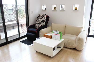 マッサージチェアー 無料でご利用可 - スタジオKaveri 東林間 レンタルスタジオの室内の写真