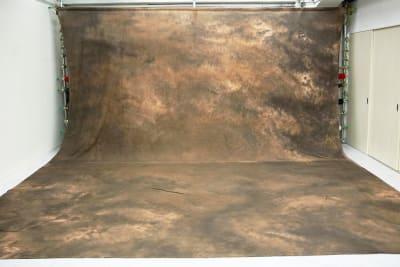 大型背景黄色 設置使用料2000円 - 蒲田センタービル504 クロマキー撮影 レンタルスタジオの室内の写真