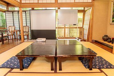 神楽坂レンタルスペース香音里 和室スペース(1階)の室内の写真