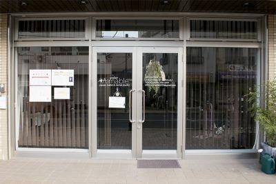 【アトリエ エマーブル】 レンタルダンススタジオの入口の写真