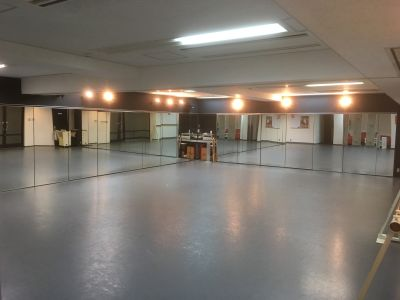 EstudioTETE スタジオテテ ダンススタジオの室内の写真