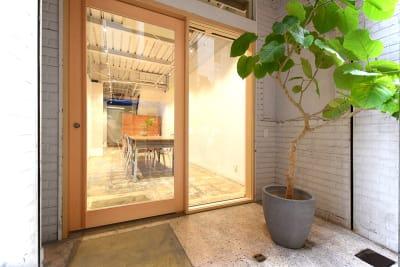 Studio SOIL スチール撮影利用(B:50㎡)の入口の写真