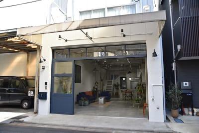 スタジオピア30 森下 撮影スタジオの入口の写真