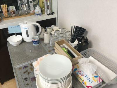 食器類 - さいたま市Shikate レンタルリビングの室内の写真