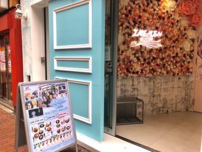 池袋AKビル IKEMENBOXの入口の写真
