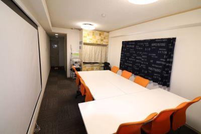 お気軽会議室 大名 😄天神赤坂駅のレンタルスペースの室内の写真