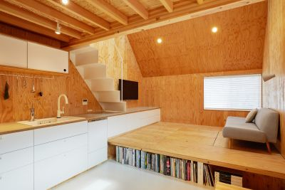 milkcartonhouse ハウススタジオの室内の写真