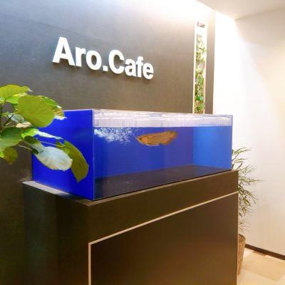 Aro.Cafe パーティースペースの入口の写真