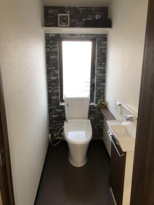 トイレ - やなぎ美装 2階 レンタルスペースの設備の写真