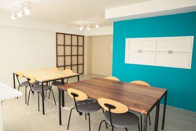 ビジネス用途やワークショップに。 - 表参道キッチンアンドカルチャーの室内の写真