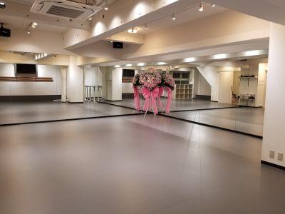 原宿ダンススタジオ 2020年3月NEW OPEN!の室内の写真