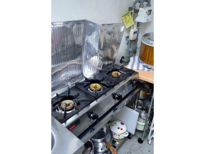 健康カフェODL カフェスペースの設備の写真