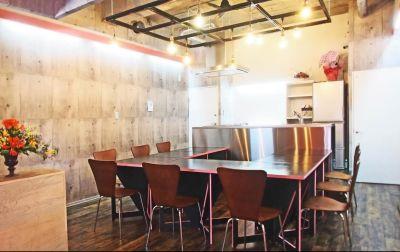 2nd  Kitchen レンタルスペースの室内の写真