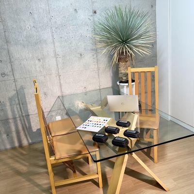 レンタルサロンの室内の写真