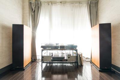 音響設備、Klipschを使用 - 「実験」貸しスタジオ・ルーム Jikkenroomの室内の写真
