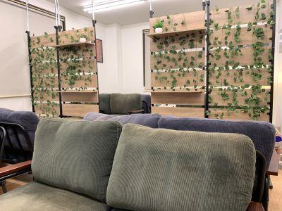 東進ナユタスレンタルスペース カフェ風スペース♪の室内の写真