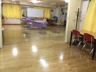 スタジオLEON ダンスレッスン、練習にABルームの設備の写真