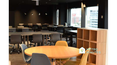 【品川コワーキング4人席】 品川コワーキングスペース4人席Bの室内の写真