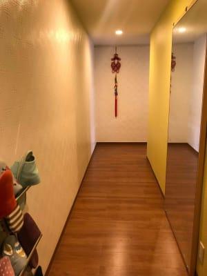 勾当台ハイツ サロンスペースの入口の写真