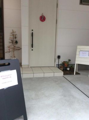 SALON Magenta サロンスペースの入口の写真