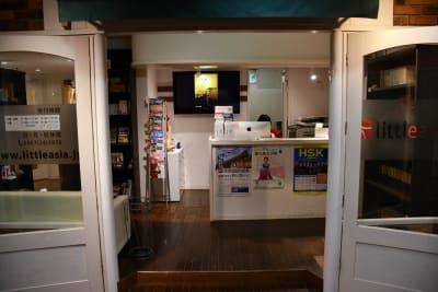 語楽塾リトルアジア 鎌倉校 レンタル会議室の入口の写真