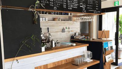 店舗内カウンター - Café Rin  門前仲町店 カフェの室内の写真